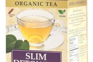 SLIM DETOX ORGANIC TEA BAGS