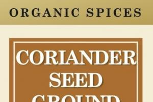 CORIANDER SEED GROUND ORGANIC SPICES
