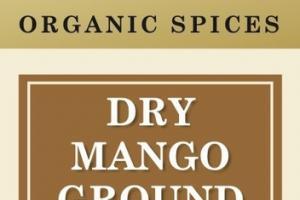 DRY MANGO GROUND ORGANIC SPICES