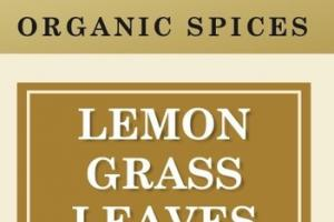 LEMON GRASS LEAVES ORGANIC SPICES