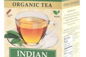 INDIAN GREEN ORGANIC TEA BAGS