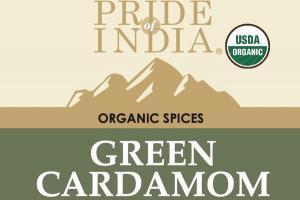 GREEN CARDAMON ORGANIC SPICES