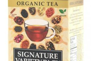 ORGANIC TEA SIGNATURE VARIETY PACK