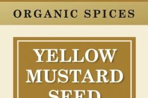 YELLOW MUSTARD SEED ORGANIC SPICES