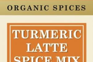 TURMERIC LATTE SPICE MIX ORGANIC SPICES