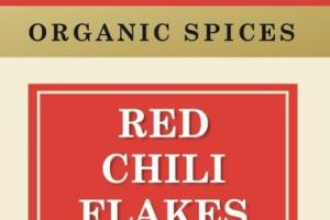 ORGANIC SPICES RED CHILI FLAKES