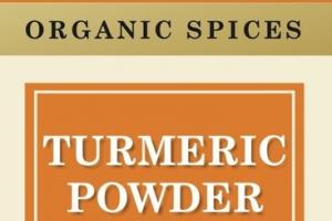 TURMERIC POWDER ORGANIC SPICES