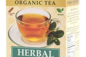 HERBAL MINT ORGANIC TEA BAGS