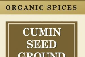CUMIN SEED GROUND ORGANIC SPICES