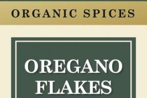 OREGANO FLAKES ORGANIC SPICES