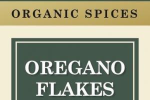 OREGANO FLAKES ORGANIC SPICES