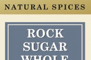 ROCK SUGAR WHOLE NATURAL SPICES