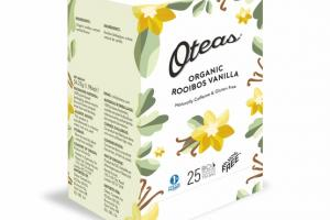 ROOIBOS VANILLA ORGANIC BIO DEGRADABLE WHOLE LEAF TEA BAG