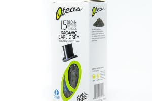 EARL GREY ORGANIC BIO DEGRADABLE WHOLE LEAF TEA BAGS