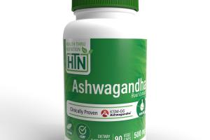 ASHWAGANDHA ROOT EXTRACT 500 MG DIETARY SUPPLEMENT VEGE CAPS