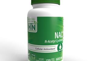 NAC N-ACETYL CYSTEINE CELLULAL ANTIOXIDANT DIETARY SUPPLEMENT VEGE CAPS