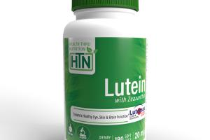 LUTEIN WITH ZEAXANTHIN DIETARY SUPPLEMENT SOFT GELS
