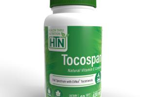 HEALTH THRU NUTRITION TOCOSPAN NATURAL VITAMIN E COMPLEX 430 MG DIETARY SUPPLEMENT SOFT GELS