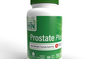 PROSTATE PLUS 160 MG SAW PALMETTO LYCORED LYCOPENE DIETARY SUPPLEMENT SOFT GELS