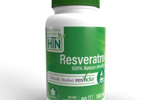RESVERATROL 100% NATURE IDENTICAL 100 MG DIETARY SUPPLEMENT SOFT GELS