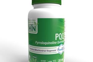 PQQ PYRROLOQUINOLINE QUINONE DIETARY SUPPLEMENT VEGE CAPS