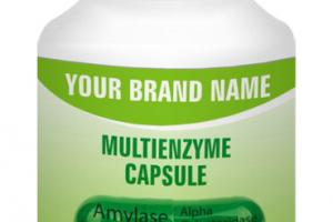 MULTIENZYME DIGESTIVE AID DIETARY SUPPLEMENT CAPSULE