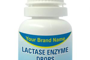 LACTASE ENZYME DIGESTIVE AID FOR DAIRY FOOD. DIETARY SUPPLEMENT DROPS
