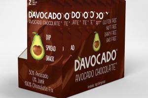 AVOCADO CHOCOLATE DIP SPREAD SNACK