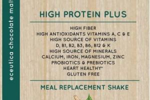 CHOCOLATE MALT HIGH PROTEIN PLUS MEAL REPLACEMENT SHAKE