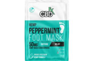 HEMP PEPPERMINT FOOT MASK SOOTHING RELIEF