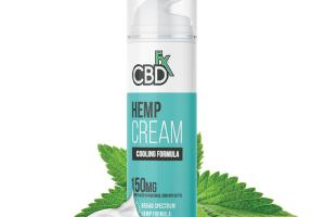 HEMP CREAM COOLING FORMULA