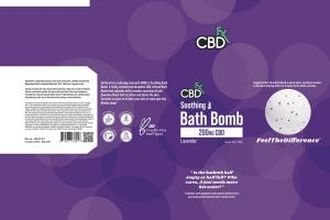SOOTHING: BATH BOMB, LAVENDER