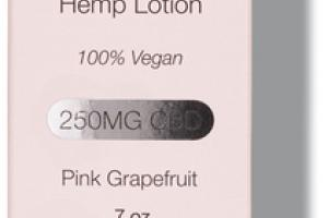 GUAYAQUIL 250MG CBD HEMP LOTION, PINK GRAPEFRUIT