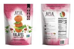 GARLIC & HERB FALAFEL A WHOLESOME BLEND OF GARBANZO BEANS, GARLIC, BASIL, AND MEDITERRANEAN HERBS & SPICES