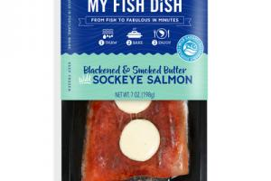 BLACKENED & SMOKED BUTTER WILD SOCKEYE SALMON