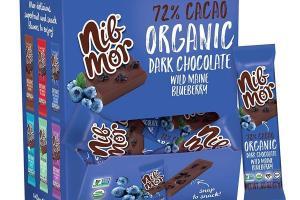 WILD MAINE BLUEBERRY ORGANIC 72% CACAO DARK CHOCOLATE
