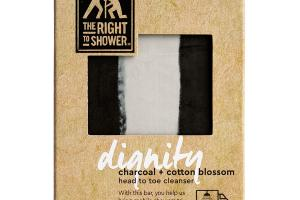 DIGNITY CHARCOAL + COTTON BLOSSOM