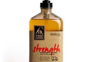STRENGTH BODY WASH, RED GINGER + CURRANT
