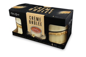 SINGLE SERVE CREME BRULEE
