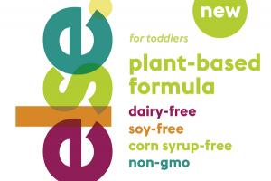PLANT-BASED FORMULA DAIRY-FREE SOY-FREE CORN SYRUP-FREE NON-GMO FOR TODDLERS
