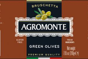 BRUSCHETTA GREEN OLIVES