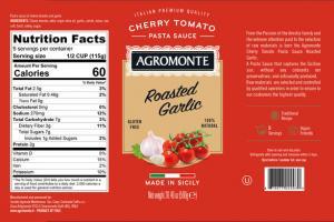 ROASTED GARLIC CHERRY TOMATO - PASTA SAUCE -