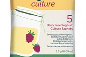 DAIRY FREE YOGHURT CULTURE SACHETS