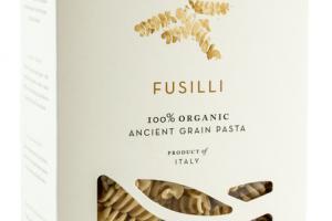 100% ORGANIC ANCIENT GRAIN PASTA, FUSILLI