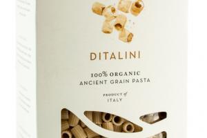 DITALINI 100% ORGANIC ANCIENT GRAIN PASTA