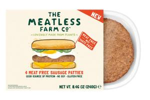 4 MEAT FREE SAUSAGE PATTIES