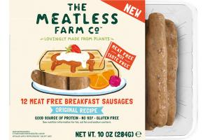 ORIGINAL RECIPE MEAT FREE BREAKFAST SAUSAGES