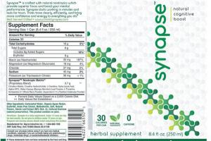 NATURAL COGNITIVE BOOST HERBAL SUPPLEMENT