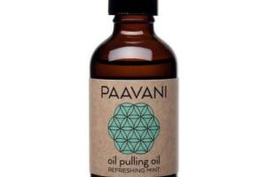 OIL PULLING OIL, REFRESHING MINT