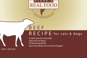 BEEF RECIPE RAW FREEZE DRIED PET FOOD FOR CATS & DOGS